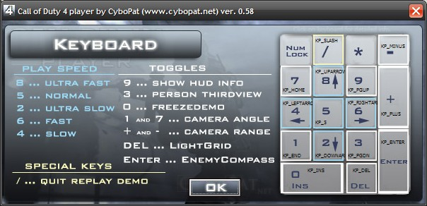 CyboPat net | Projects | Call of Duty 4 Player